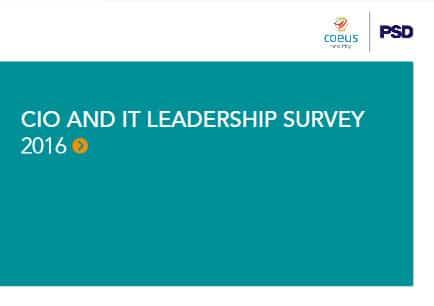 2016 CIO and IT Leadership Survey Report