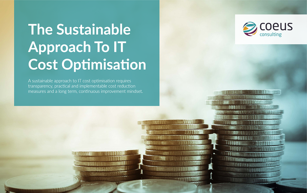 Sustainable Approach to IT Cost Optimisation